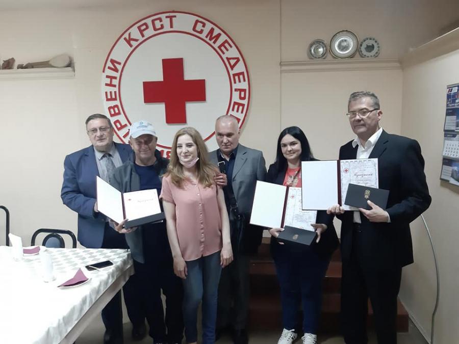 Уручена признања за медијски допринос и промовисан сајт Црвеног крста Смедерево
