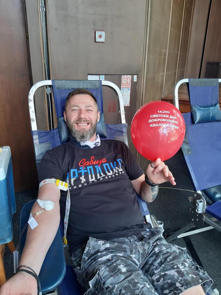 Добар одзив у Смедереву на Светски дан добровољних давалаца крви